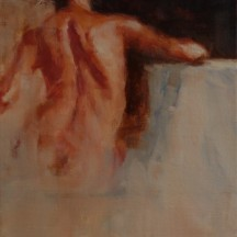 FIGURE STUDY oil on canvas 9 x 12