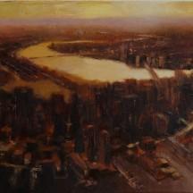 CHARLES INBOUND oil on canvas 9 x 12